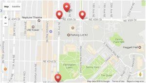 UCUCC Parking Map