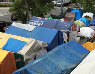 Homeless Encampment to be Hosted at 45th and 15th