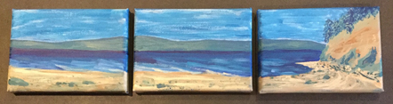 """Deep Waters"" honors water and oceans"